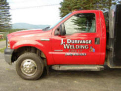 Cutting Edge Graphics � Durivage Welding Truck