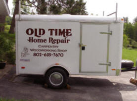 Cutting Edge Graphics : Old Time Trailer