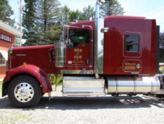 Cutting Edge Graphics : Rod and Son Kenworth