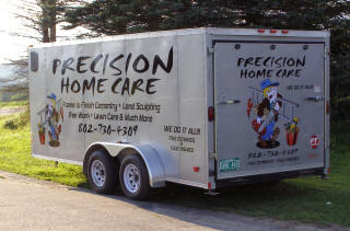 Precision Home Care Trailer